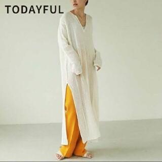 TODAYFUL - 新品 Todayful トゥデイフル ドレス ホワイト38