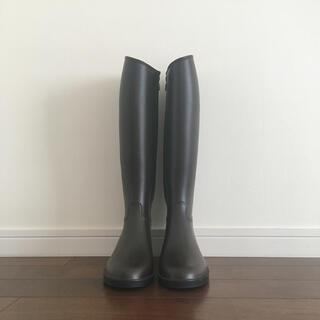 ビームス(BEAMS)のBEAMS ブラウン レインブーツ Sサイズ(レインブーツ/長靴)