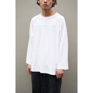COMOLI - 【21SS】COMOLI  フットボールTシャツ ホワイト 新品未使用