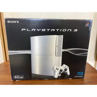 プレイステーション3(PlayStation3)のプレイステーション3 本体と純正コントローラーと選択制ソフト11本箱説明書付き(家庭用ゲーム機本体)