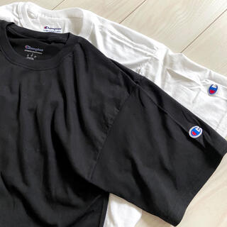Champion - 新品 チャンピオン メンズ Tシャツ ブラック ホワイト まとめ売り 半袖 無地