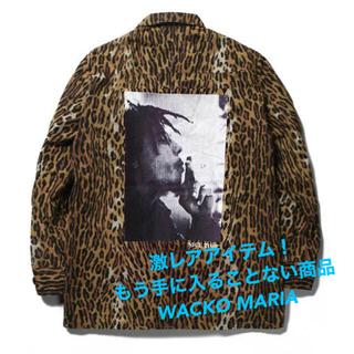 ワコマリア(WACKO MARIA)のBOB MARLEY × WACKO MARIA LEOPARD JACKET(Gジャン/デニムジャケット)