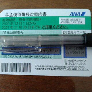 エーエヌエー(ゼンニッポンクウユ)(ANA(全日本空輸))のANA株主優待券(その他)
