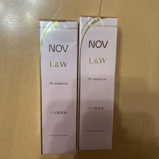 NOV - NOV ノブ L&W リフトエッセンス ハリ美容液 28g