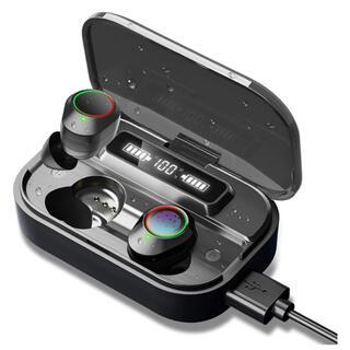 Bluetooth5.1 ワイヤレスイヤホン 2000mAh充電ケース付き