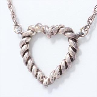 Tiffany & Co. - ティファニー ハート 925  シルバー レディース ネックレス