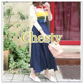 Chesty - 【美品】Chesty  2wayジャンパースカート デニム サイズ1