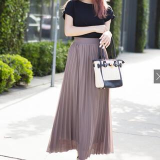 GRL - GRL グレイル プリーツロングスカート