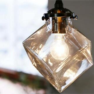 ACTUS - 照明 新品同様のLED電球付き お洒落 ガラス 高級 ペンダントライト