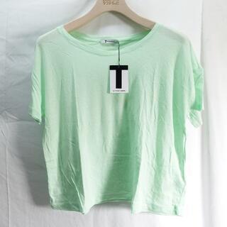 アレキサンダーワン(Alexander Wang)のALEXANDER WANG Tシャツ レディース ライトグリーン(Tシャツ(半袖/袖なし))