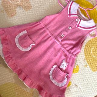 クーラクール   ワンピース 95 ピンク