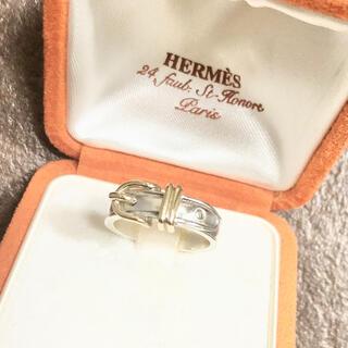 Hermes - 正規品 エルメス 指輪 サンチュール ベルト コンビ SV925 金銀 リング3