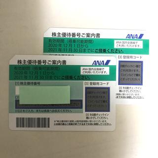 ANA 株主優待券 2 枚 (その他)