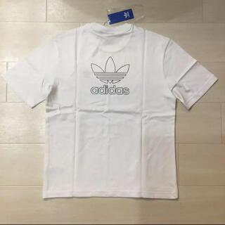 adidas - ◆新品◆アディダスオリジナルス Tシャツ 白 バックプリント