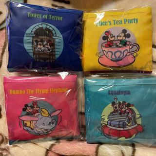 Disney - 東京ディズニーリゾート限定 エコバッグ 4点セット 新品