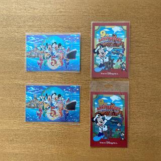 Disney - ディズニー ポストカード 4枚セット