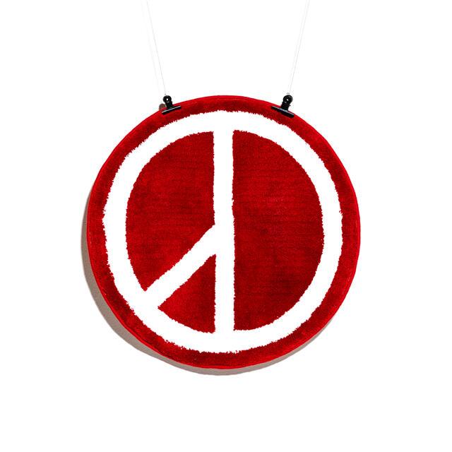 PEACEMINUSONE(ピースマイナスワン)のPEACEMINUSONE PMO MAT # 1 RED メンズのファッション小物(その他)の商品写真