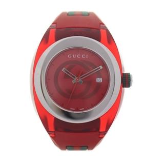 グッチ(Gucci)のGUCCI グッチ 腕時計 YA137103A【本物保証】(腕時計(アナログ))