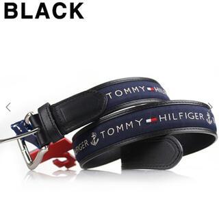 TOMMY HILFIGER - Tommy Hilfiger☆ 11TL02X032 ベルト ネイビー