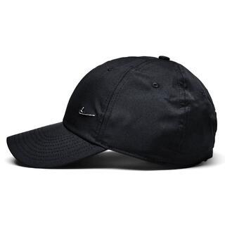 NIKE - 【ユニセックス】Nike metal swoosh cap ナイキ ブラック