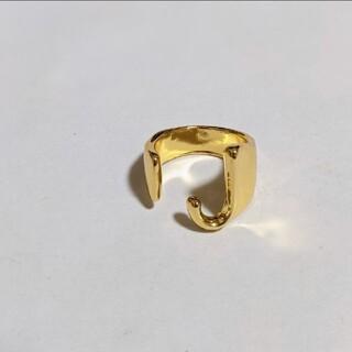 ボウダンショウネンダン(防弾少年団(BTS))の❤アルファベット リング  /J❤イニシャルG フリー指輪 BTS ジミン ジン(リング(指輪))