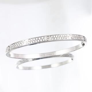 Cartier - 【保証書付】カルティエ ラブブレス SM WG 16 ダイヤ ブレスレット