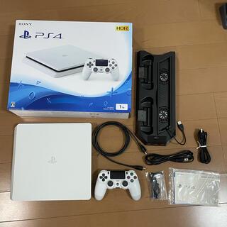 PlayStation4 - PlayStation®4 グレイシャー・ホワイト 1TB 本体