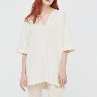 UNIQLO - ユニクロ マメクロゴウチ エアリズムコットンオーバーサイズTシャツ L