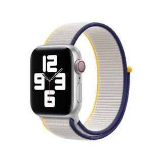 Apple Watch - Apple Watch 40mm バンド スポーツループ シーソルト