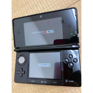 ニンテンドー3DS - ☆美品☆送料無料任天堂3DS本体ブラックNintendo