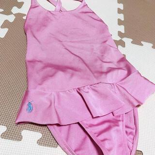 Ralph Lauren - ラルフローレン♡6♡120♡水着♡ワンピースタイプ♡ピンク♡スイムウェア♡