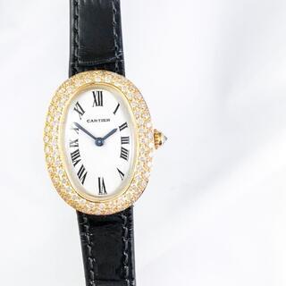Cartier - 【仕上済】カルティエ ベニュワール K18YG ダイヤ レディース 腕時計
