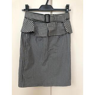 ♥ミッシュマッシュ チェックタイトスカート