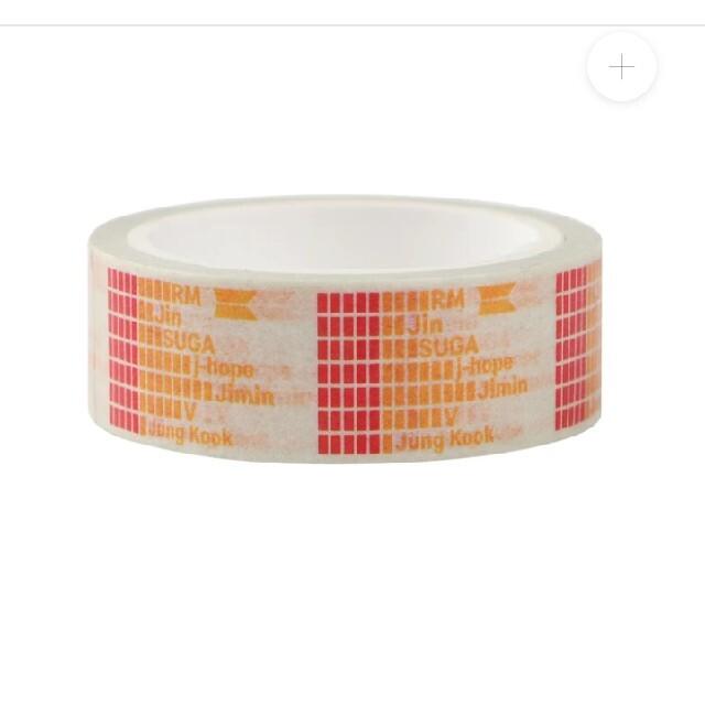BTS マクドナルド コラボ マスキングテープ 3種セット マック マステ 公式 エンタメ/ホビーのタレントグッズ(ミュージシャン)の商品写真