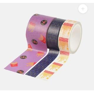 BTS マクドナルド コラボ マスキングテープ 3種セット マック マクド