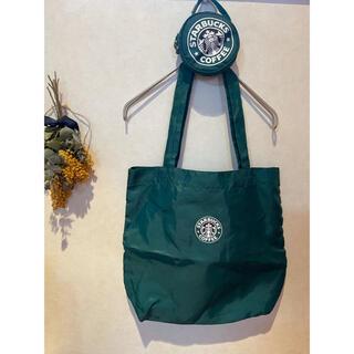 Starbucks Coffee - スターバックス Starbucks エコバッグ 旧ロゴ  レア