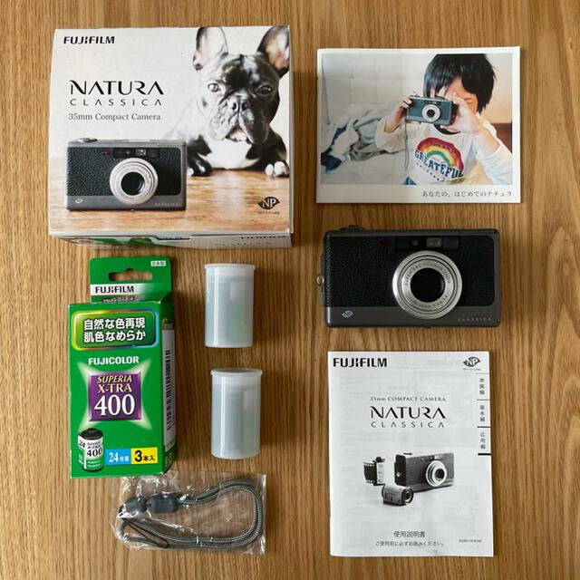 富士フイルム(フジフイルム)のナチュラクラシカ スマホ/家電/カメラのカメラ(フィルムカメラ)の商品写真