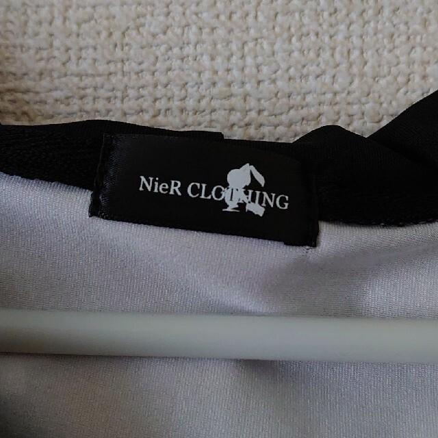 NieR 半袖パーカー メンズのトップス(パーカー)の商品写真