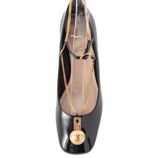 クリスチャンディオール(Christian Dior)のディオール パンプス ゴールド×黒(ハイヒール/パンプス)