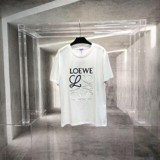 LOEWE - loewe2021新モデル立体刺繍tシャツ半袖!