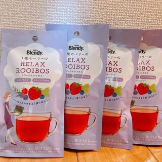 エイージーエフ(AGF)の味の素 AGF ブレンディ 3種のベリーリラックスルイボス 6本×4袋(茶)