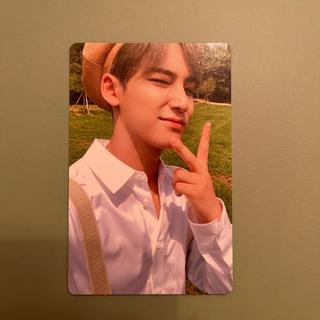 セブンティーン(SEVENTEEN)のミンギュ an ode hope セット トレカ ベレー帽 アルバム セブチ(K-POP/アジア)