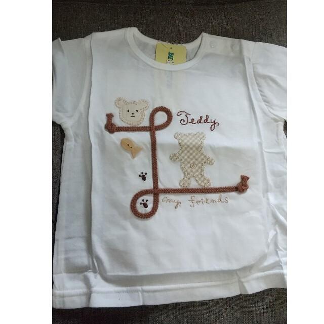 キムラタン(キムラタン)のキムラタンTシャツ 80 キッズ/ベビー/マタニティのベビー服(~85cm)(Tシャツ)の商品写真