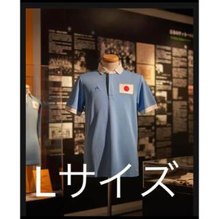 adidas - Lサイズ  サッカー日本代表100周年アニバーサリーユニフォーム パッケージ付き