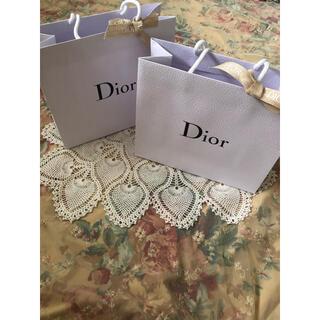 Dior - ディオール 紙袋 ショッパー リボン