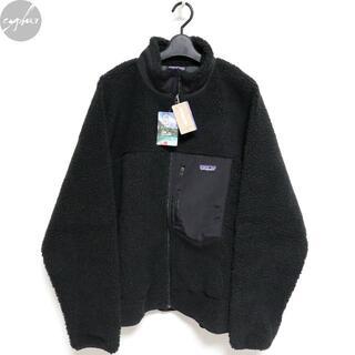 パタゴニア(patagonia)のパタゴニア メンズ レトロX ジャケット 黒 S 新品 フリース カーディガン(ブルゾン)