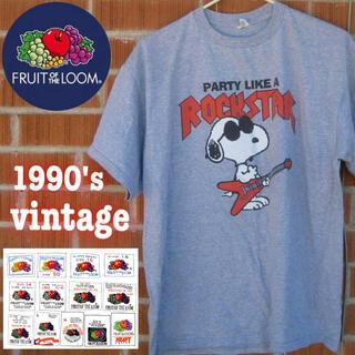 RRL - 貴重 90s FRUIT OF THE LOOM SNOOPY Vintage