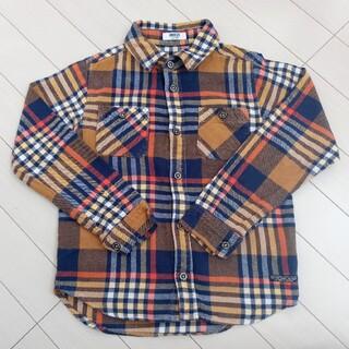 ブリーズ(BREEZE)のBREEZE チェックシャツ 130センチ(ブラウス)