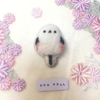 羊毛フェルト ブローチ(コサージュ/ブローチ)