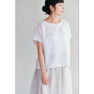 mina perhonen - 新品 ミナペルホネン senko hanabi  線香花火 ブラウス 38